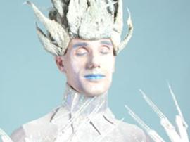 Ice Living Statue