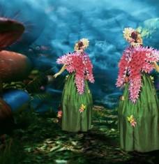 Alice in Wonderland Forest Fairies