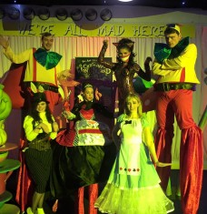 Alice in Wonderland xmas
