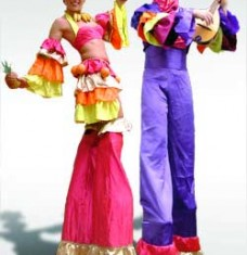 Carnival Theme Stilts