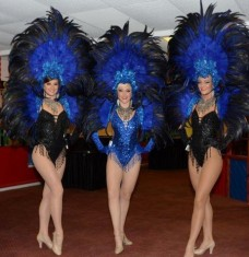 Showgirl - black and Blue rnr