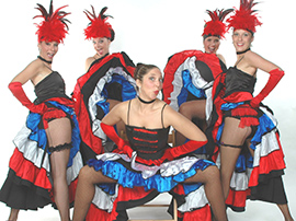 Cancan Dancers for Hire