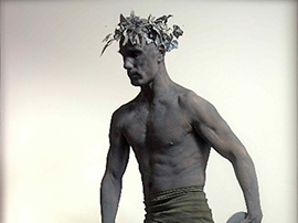Male Stone Human Statue