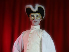 Maskball Living Statue