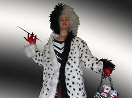 Cruella Devil Stilt Walker