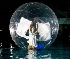 Spherical Globe Water