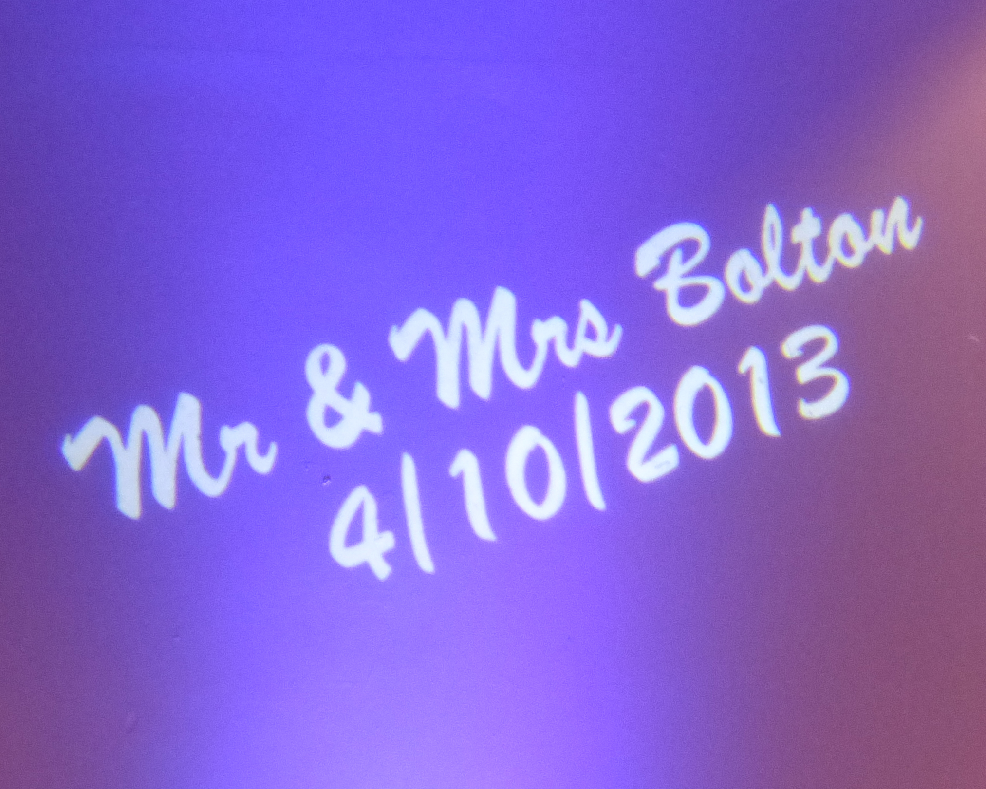 Mr and Mrs Bolton