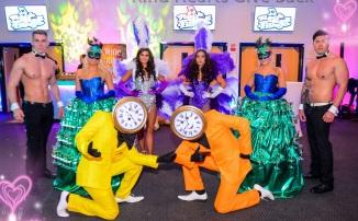 Alice in Wonderland theme entertainment