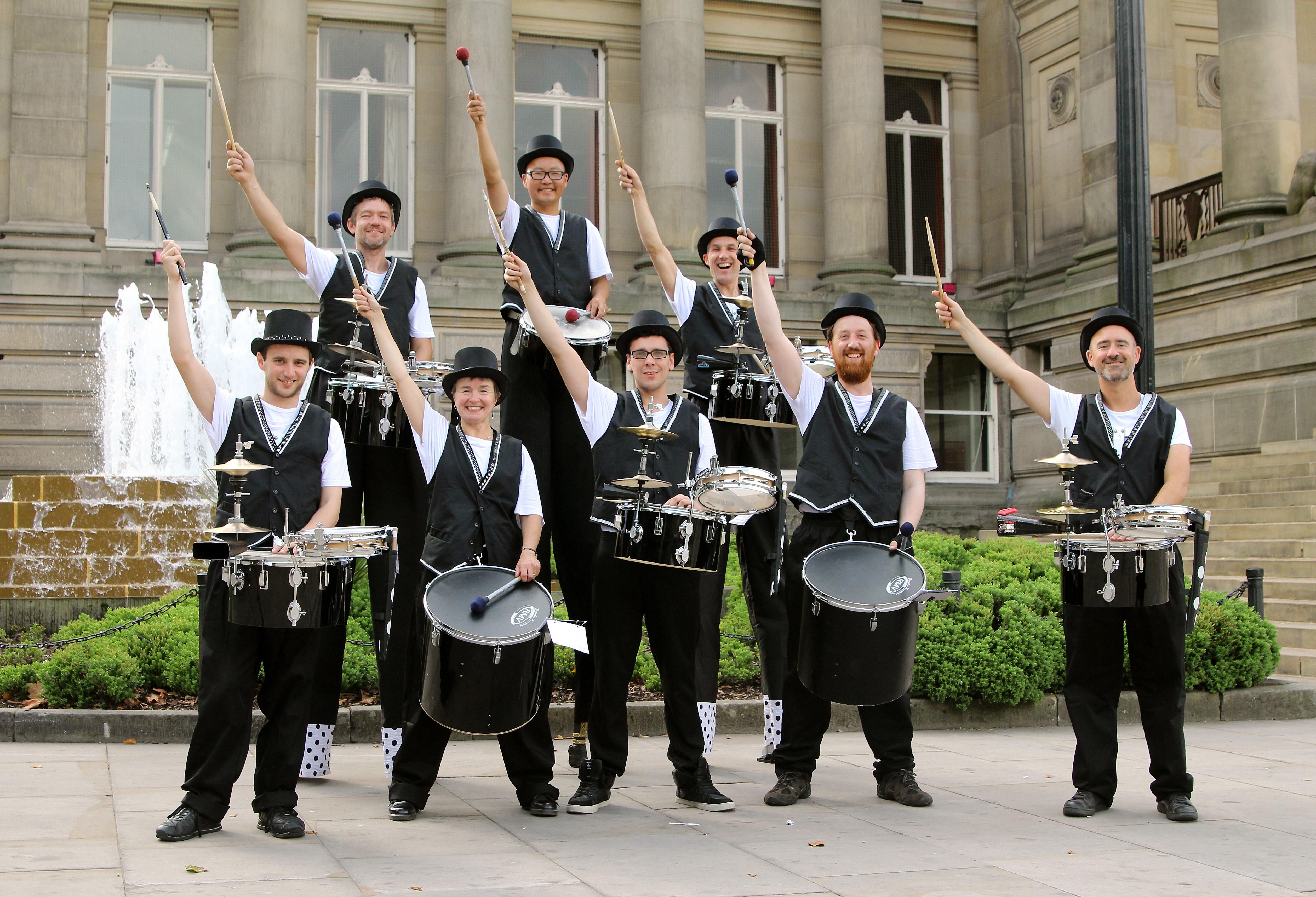Drumming Band Mitch