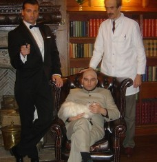 Blofeld Q Sean Connery