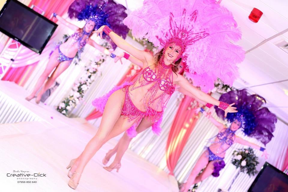 Brazillian showgirl hire