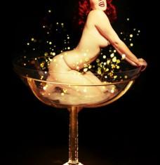 Ginger Burlesque Martini